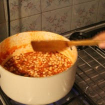 Share your plate challenge: pasta e fagioli (pasta and bean soup)