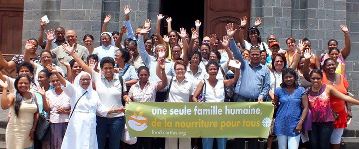 Celebrating the campaign in Mauritius