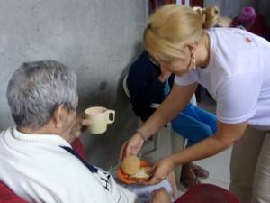 Brazil Week of Action Pesquiera feeding